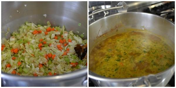 soup in progress