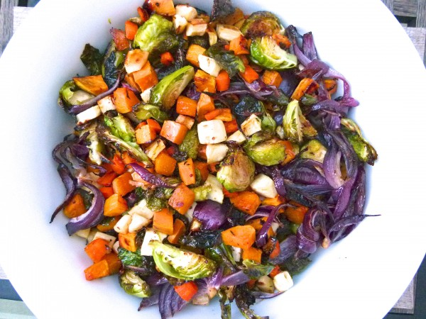 maple-mustard roasted vegetables | pamela salzman