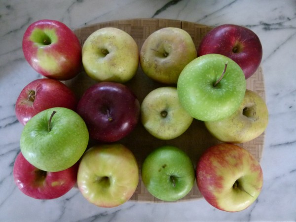 the secret is using a variety of apples