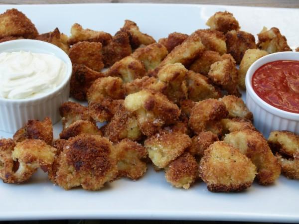 crunchy parmesan cauliflower | pamela salzman