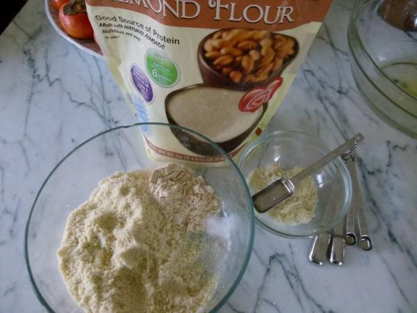 almond flour and coconut flour