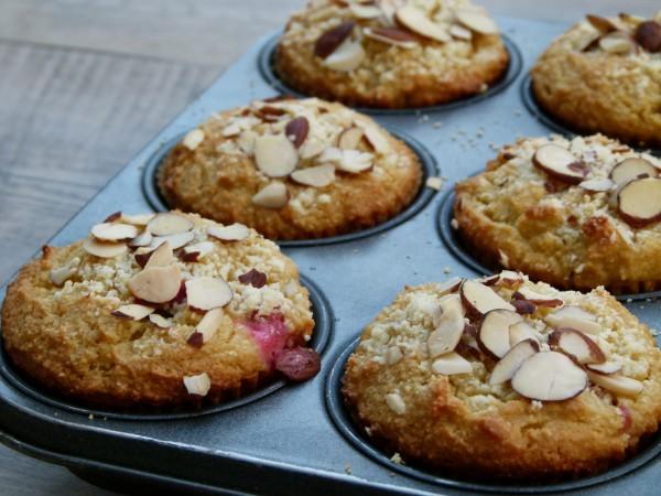 cranberry-orange almond flour muffins