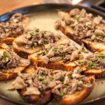 Hen of the Woods Mushroom Toast