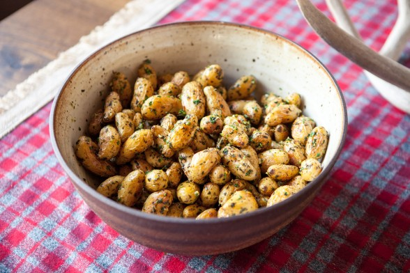 roasted fingerling potatoes with gremolata