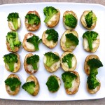 mini potato broccoli cheese bites