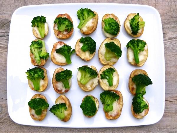 mini potato broccoli cheese bites | pamela salzman