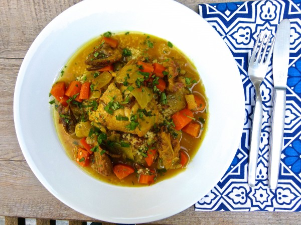 Moroccan chicken with dates | Pamela Salzman