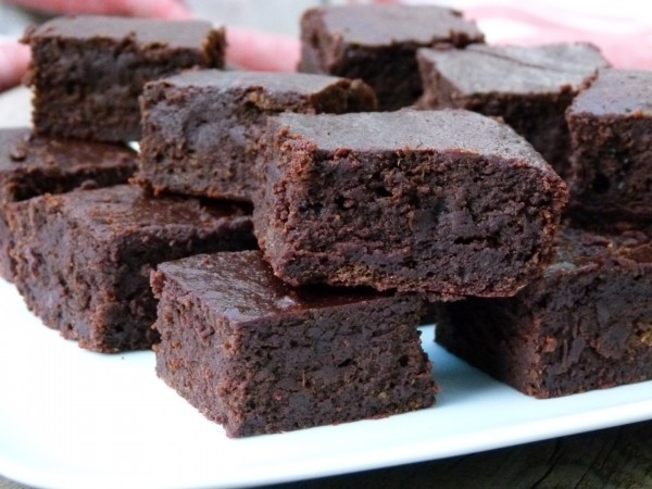 gluten-free fudge brownies | pamela salzman