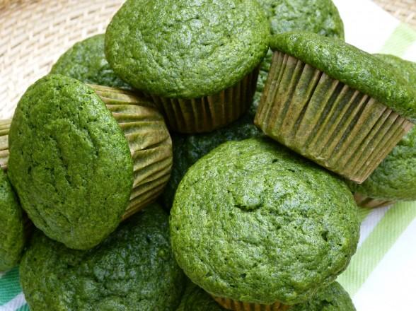 Green muffins!