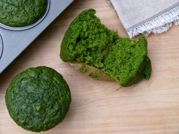green muffins | pamela salzman