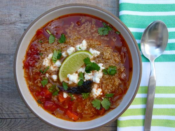 Caldo Tlalpeno Soup |Pamela Salzman