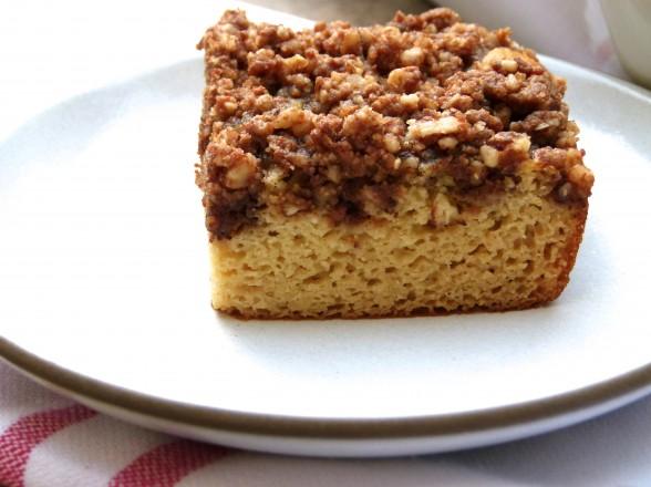 grain-free white bean coffee cake