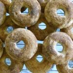 baked cinnamon cake doughnuts!