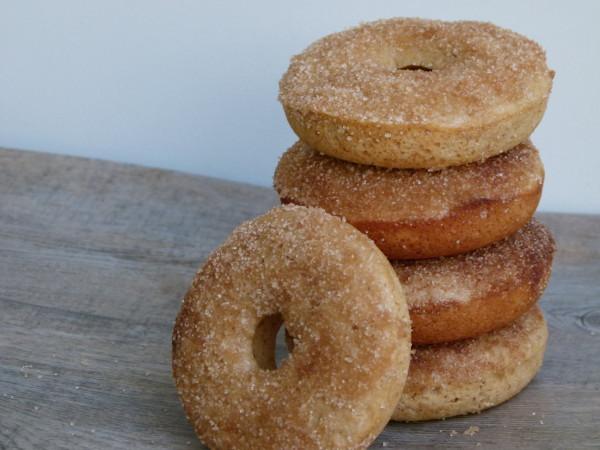 baked cinnamon cake doughnuts   pamela salzman
