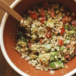 Charred Corn Salad with Tomato and Avocado