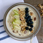 Bircher Muesli with Hazelnuts and Golden Raisins