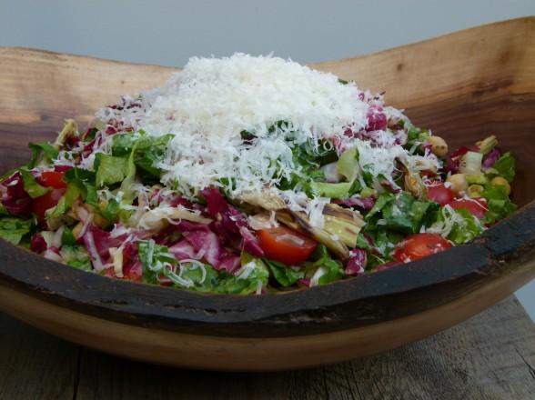 Vegetarian Chopped Antipasto Salad