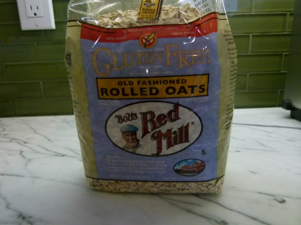 Bob's Red Mill gluten-free oats