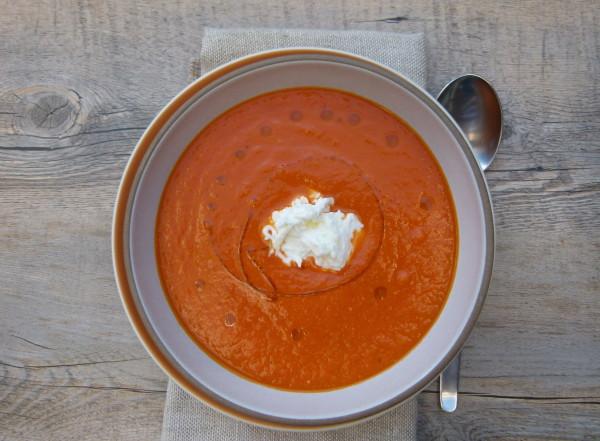 zuppa di pomodoro (fresh tomato soup) | pamela salzman