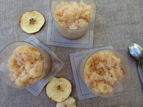 Apple Pie Granita recipe (refined sugar-free) | Pamela ...