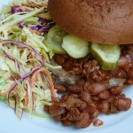 turkey and pinto bean sloppy joes