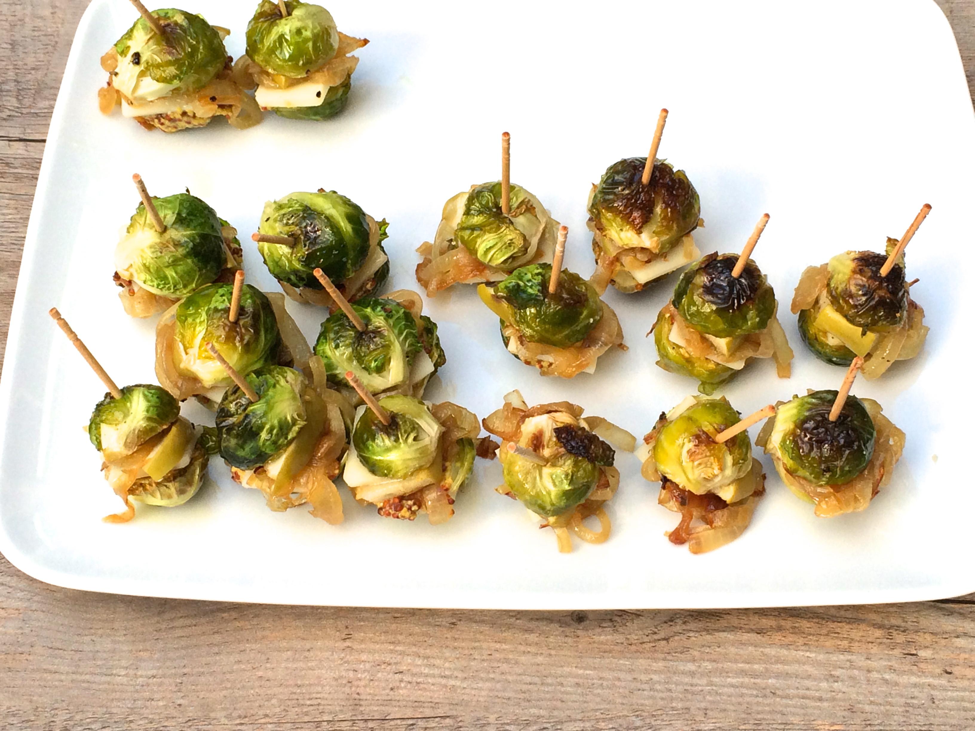 Brussels Sprout Sliders Recipe Pamela Salzman Amp Recipes