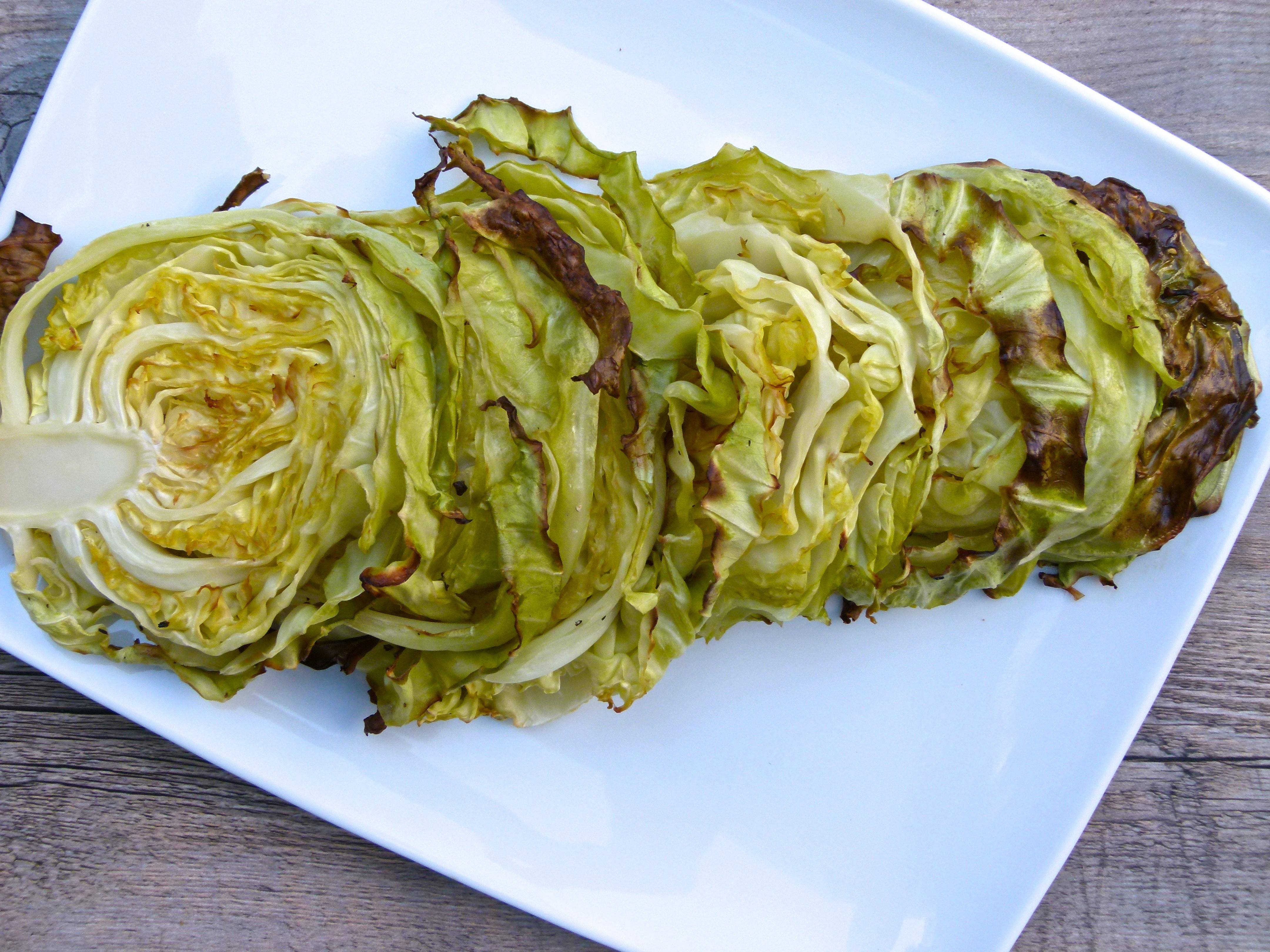 Roasted Cabbage Wedges Recipe | Pamela Salzman & Recipes