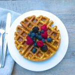 whole grain buttermilk waffles | pamela salzman