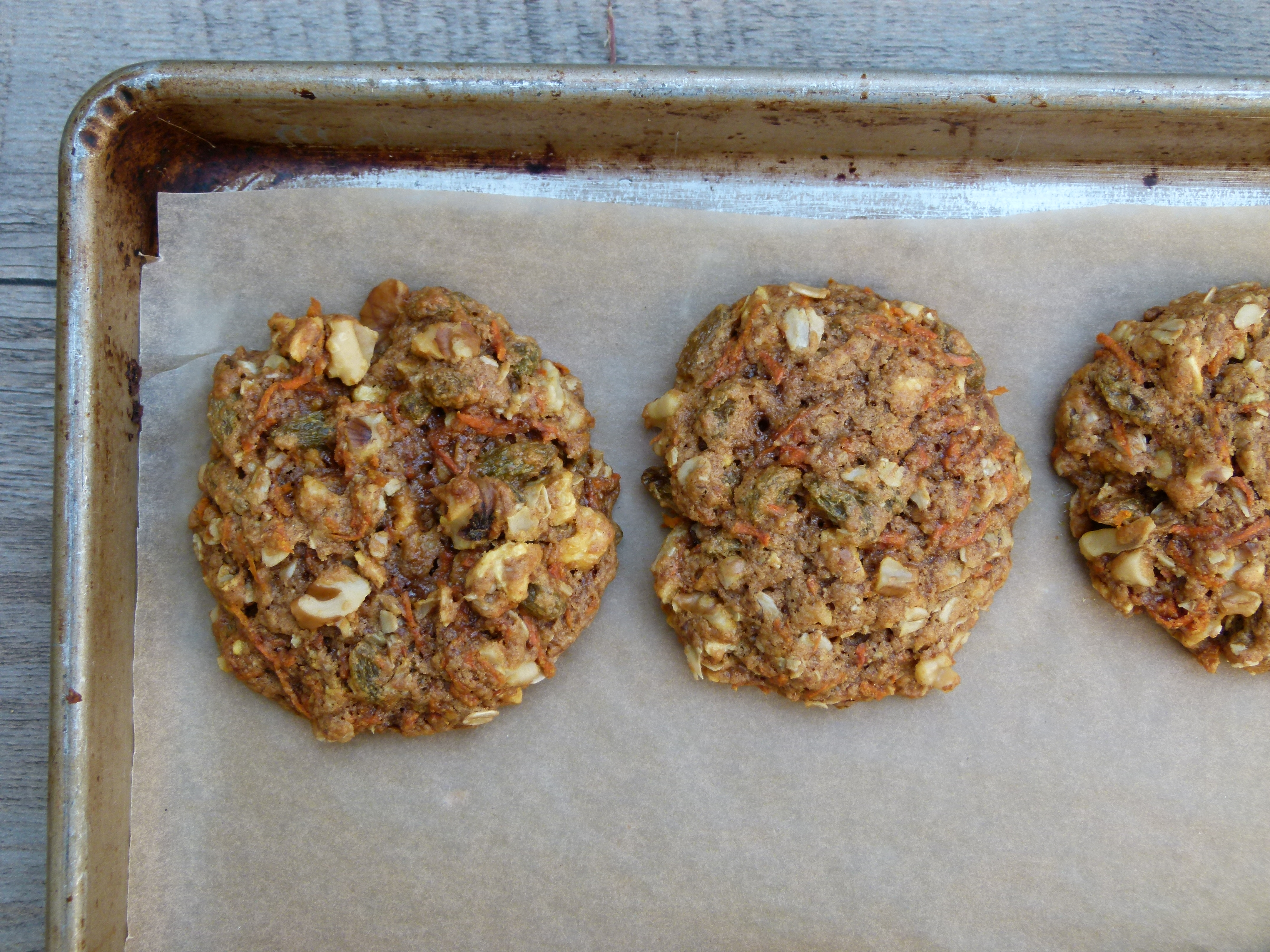 whole wheat carrot cake cookies | pamela salzman