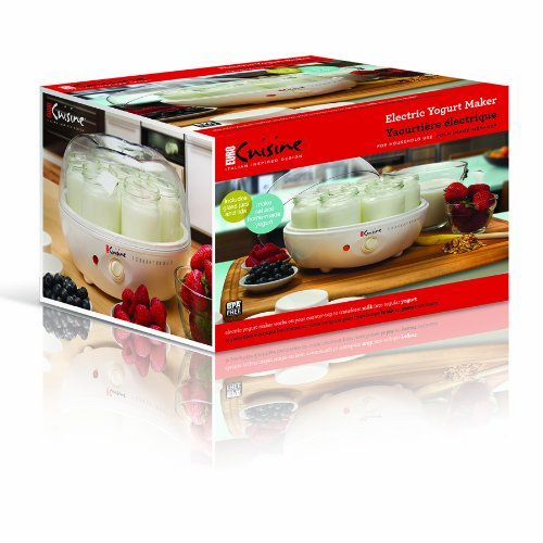 Euro cuisine ym80 yogurt maker pamela salzman for Automatic yogurt maker by euro cuisine