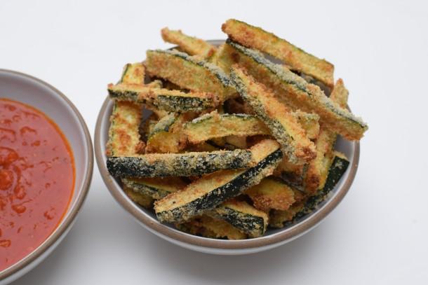 baked zucchini fries | pamela salzman