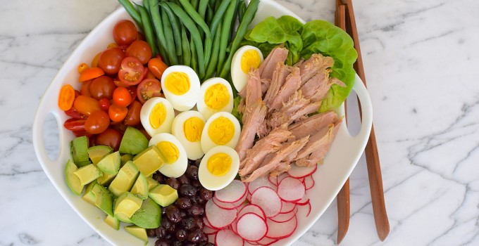 California Nicoise Salad Recipe