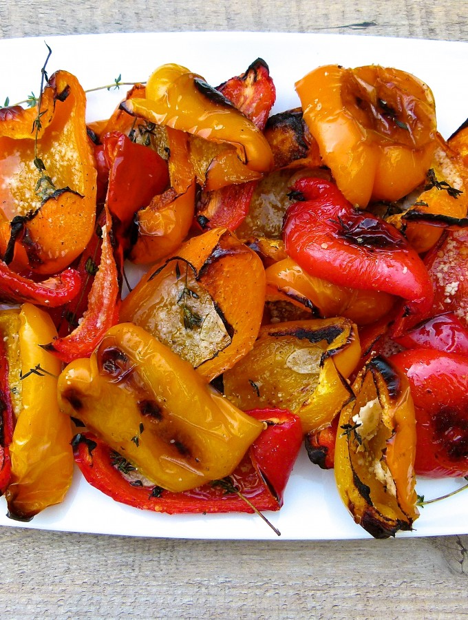 parmesan peppers | pamela salzman
