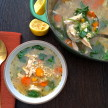 lemon turkey and barley soup | pamela salzman