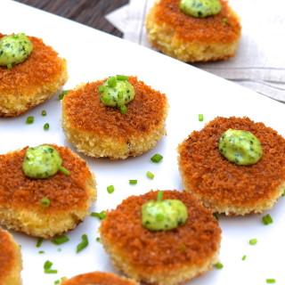 mini risotto cakes | pamela salzman