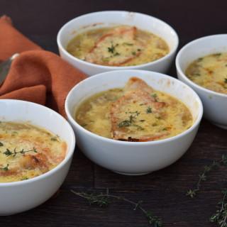 healthy french onion soup | pamela salzman