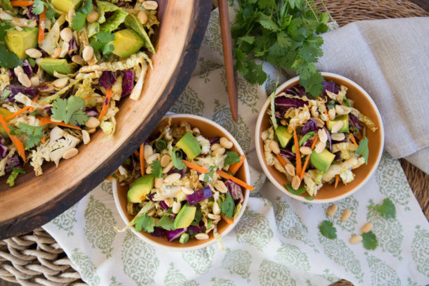 How To Make California Pizza Kitchen Thai Crunch Salad